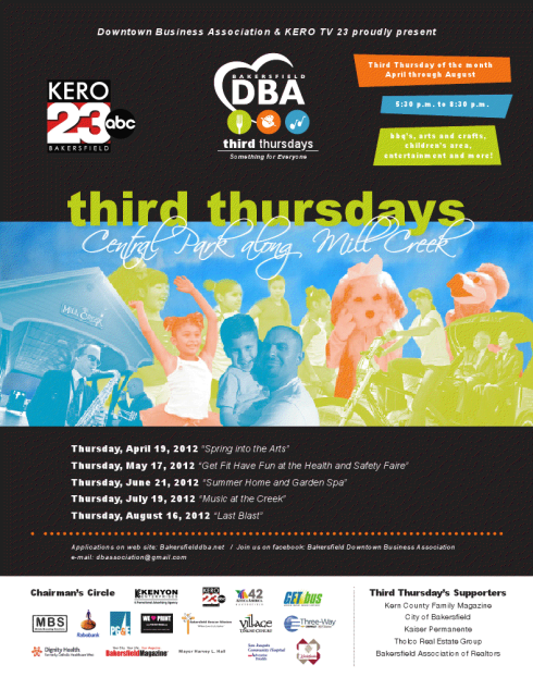 """Third Thursday"" June 21, 2012 @ Mill Creek Park"